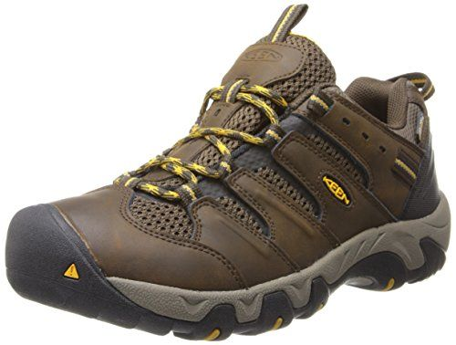 Introducing KEEN Mens Koven WP Hiking ShoeCascade BrownTawny Olive85 M US.  Great Product and follow