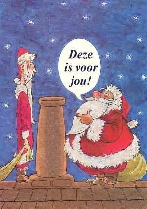 Kerstfun: Grappige plaatjes - De dikke en de dunne