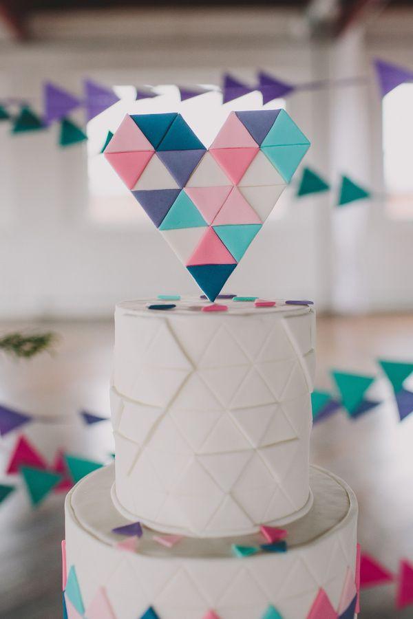 http://ruffledblog.com/galleries/geometric-wedding-inspiration-from-sarah-park-events/teal-peach-geometric-wedding-69/