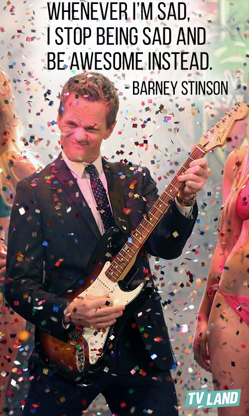 See Barney be awesome every weeknight at 8/7c during How I Met Your Mother now on TV Land!
