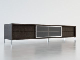 Lexington TV Stand by ModLoft - Wenge - contemporary - media storage - orange county - by Cressina