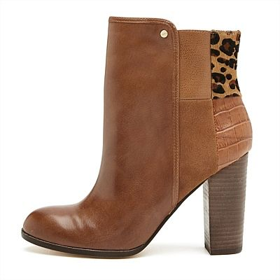 Make Tracks Ankle Boot