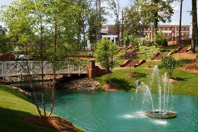 High Point University in North Carolina