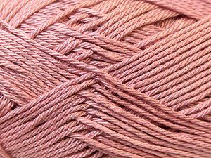 Fiber Content 100% Mercerised Cotton, Rose Pink, Brand Ice Yarns, Yarn Thickness 2 Fine Sport, Baby, fnt2-23331