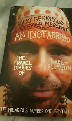 An Idiot Abroad Book The Travels of Karl Pilkington - Funny book