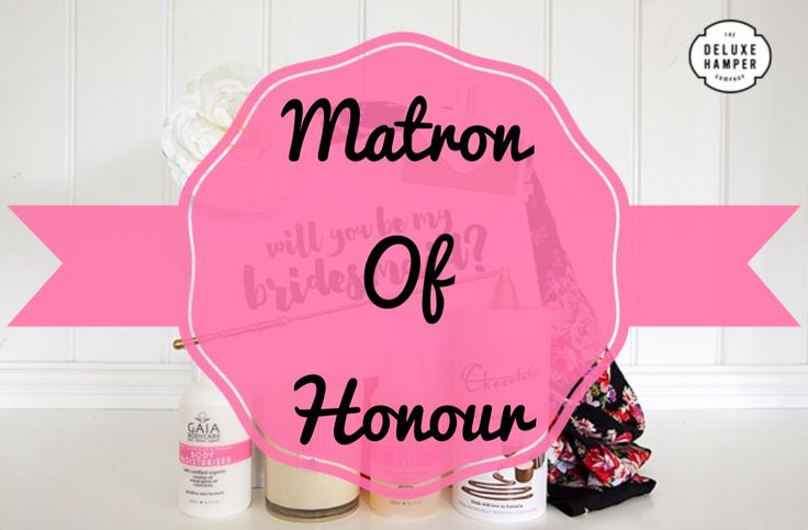 Will you be my Matron Of Honour….. Satin Robe Deluxe