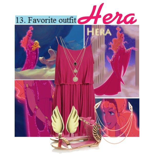 """""""Disney Challenge: Hera ~ Hercules"""" by liesle on Polyvore"""