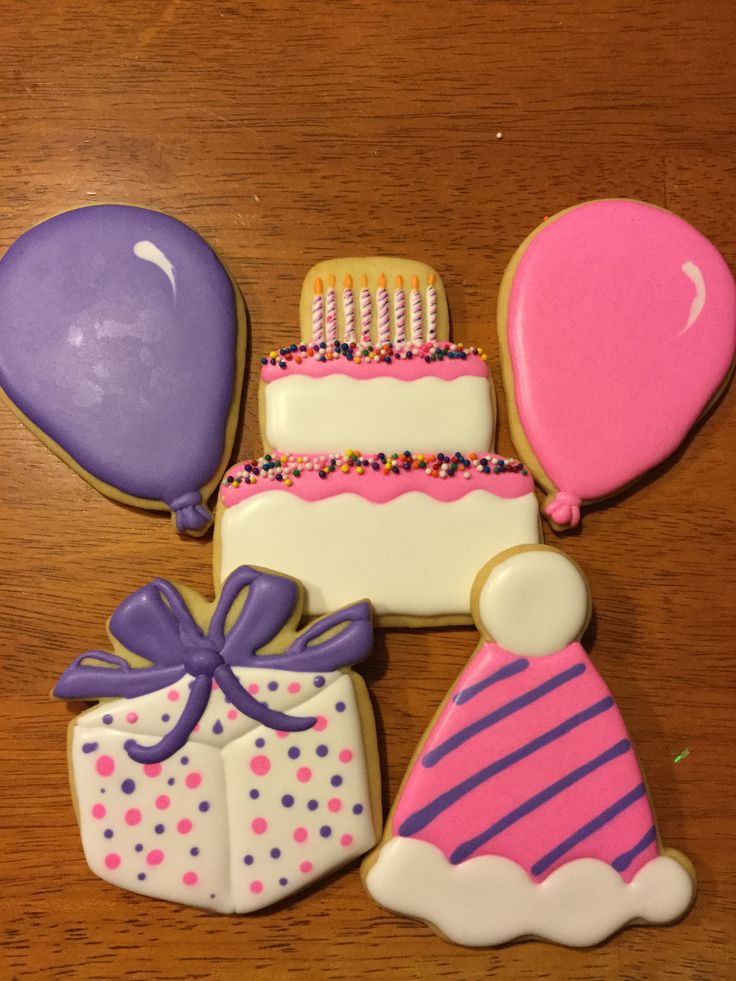 Birthday Sugar Cookie Set