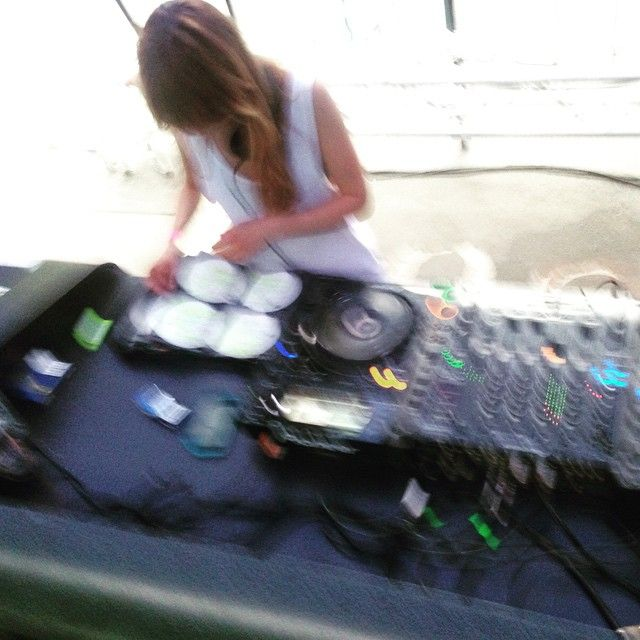 Cand puneam eu muzica la #streetdelivery