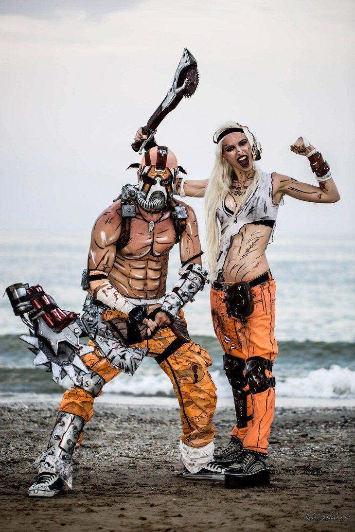 Borderlands cosplay by MissHatred LeonChiro by JessicaMissHatred. A brilliant cosplay portrayal look at the detail! It looks like they completely walked out of the game!