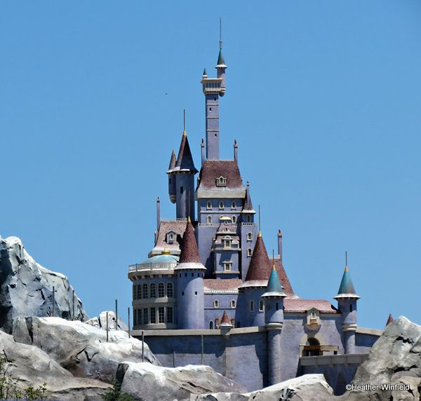 Beast's Castle where Be Our Guest Restaurant will be located in Disney World!