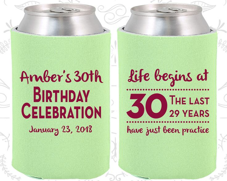 30th Birthday, 30th Birthday Favors, Unique Birthday Favors, Birthday Celebration, Life begins at 30, Birthday Party Favors (20019)