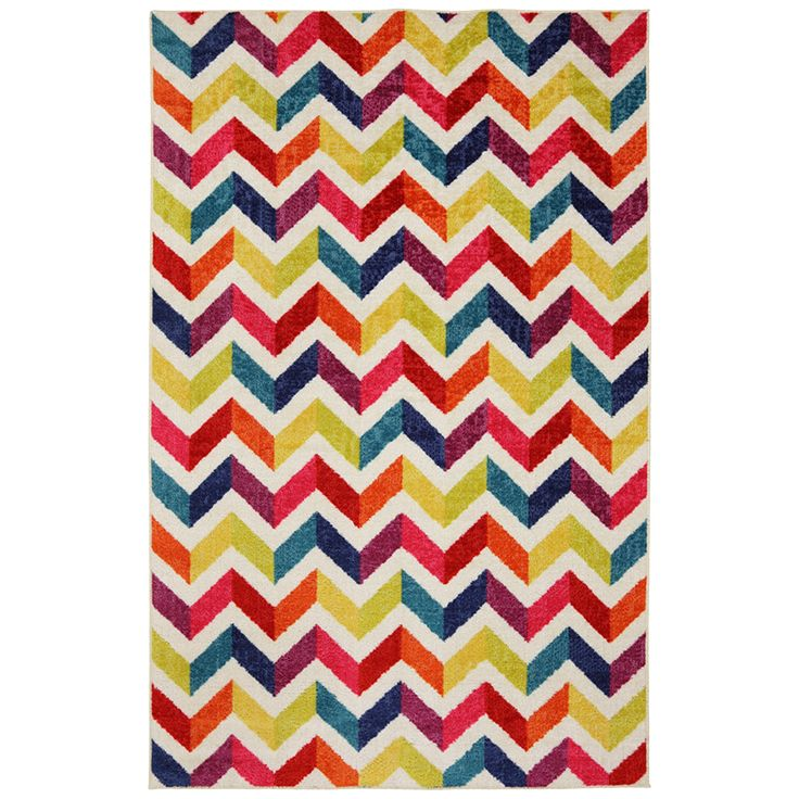 Mohawk Home Strata Mixed Chevrons Prism (5' x 8') - Free Shipping Today - Overstock.com - 15295467