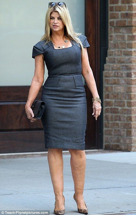 "Kirstie Alley, beautiful woman. Oh stop with the ""showing her age"" shit."