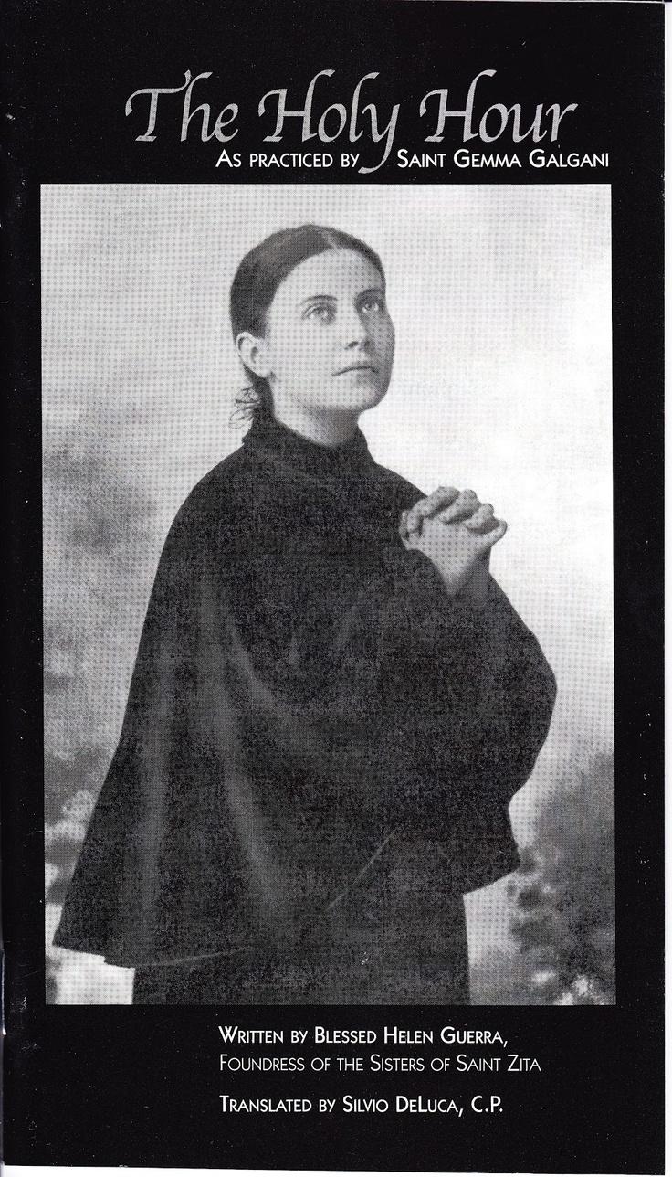 St Gemma Galgani: St Gemma Holy Hour Booklet