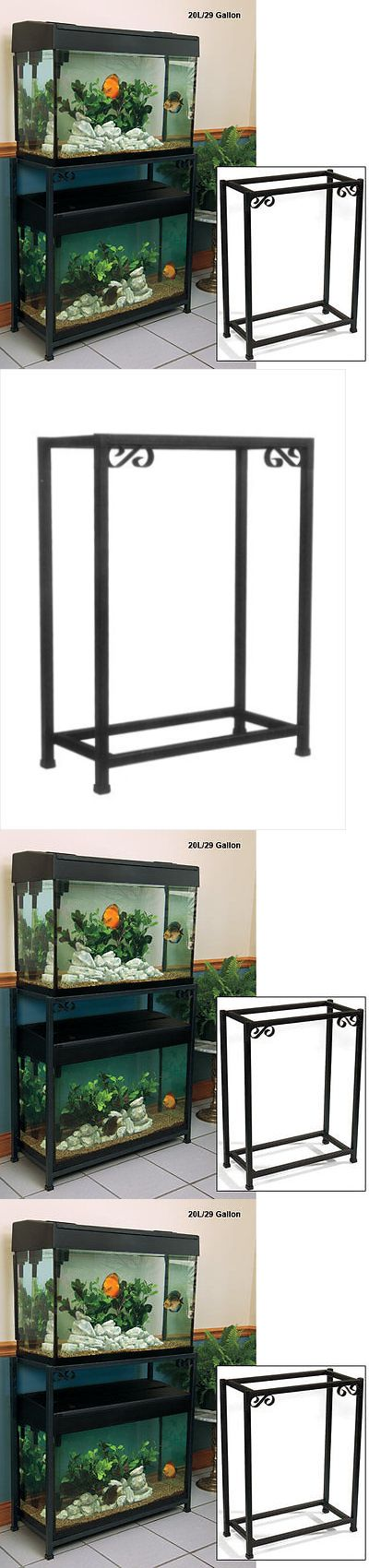 Aquariums and Tanks 20755: Titaneze Aquarium Base Stand 20 Gallon Fish Tank Home Decor Holder BUY IT NOW ONLY: $66.61