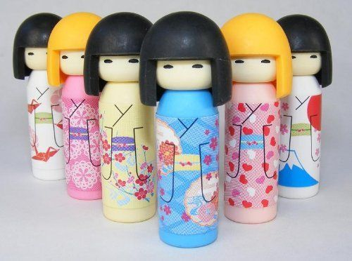 Iwako Japanese Erasers Kokeshi Dolls Set of 6 by BC Office Products. $6.99. Small parts, not for children under 8 years.. Iwako erasers are all original designs, produced and hand assembled in Japan.. Eco-friendly! Latex free, PVC free, phthalate free, and lead free!. Each eraser is a puzzle that can be taken apart and put back together.. Set of 6 dolls includes: 2 blonde dolls and 4 brunettes.. Iwako erasers are all original designs, produced and hand assembled in Ja...