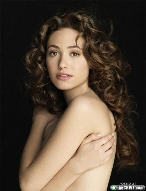 Emmy Rossum, who I want to marry if Anne Hathaway rejects me.