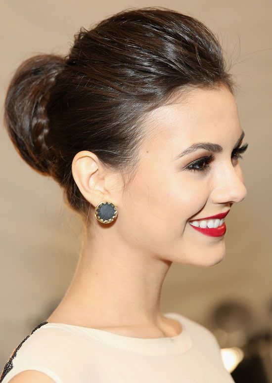 Professional Hairstyles For Women - Silky Semi-High Bun