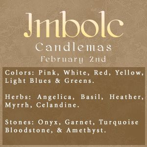 Imbolc: #Imbolc.  My grandfather named after this celebration, Candelario, and my father named after as well, Candelario Jr.  Time to CELEBRATE two men that are loved very, very much, even tho they have passed on already.  Great celebration!!!