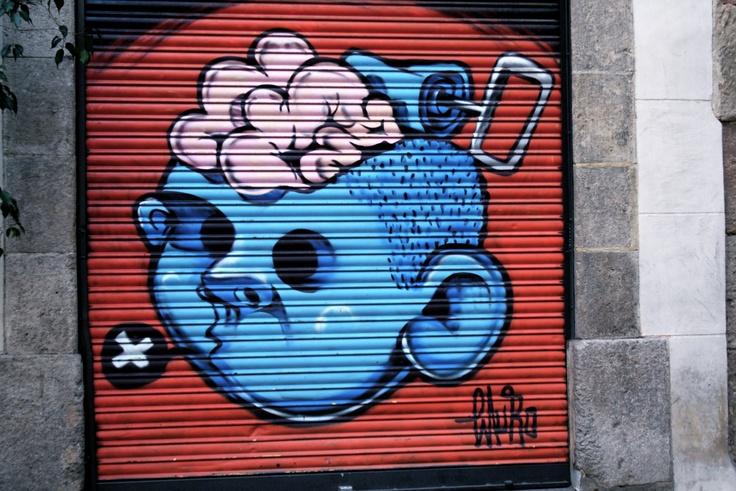 #StreetArt in el Born, #Barcelona