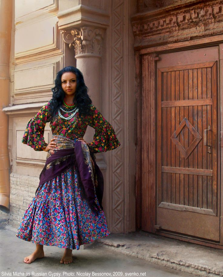 Russian Gypsy Girl -- pretty much I just want her clothes because they look amazing