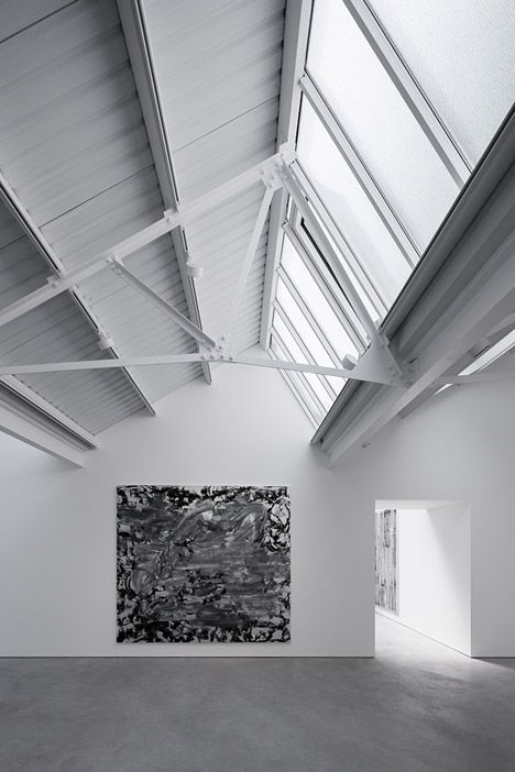 Matheson Whiteley revitalised a trio of dilapidated 1940s warehouses to create a new contemporary art gallery in London.