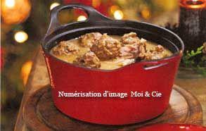 Ragoût de boulettes et de pattes de porc de Claudette Taillefer   Hebdo Web