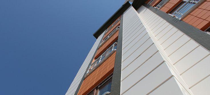 Yapıların iç ve dış cephe kaplamalarında kullanılan fibercement levhalar Hekim Board markası ile düz, ahşap, taş, tuğla gibi desenlerde üretilmektedir.