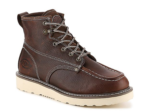 Dickies Men's Trader Leather Work Boots