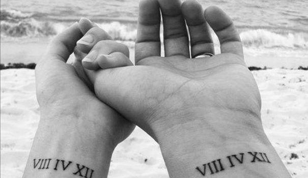 wife and husband tattoos
