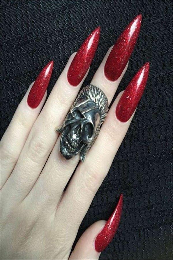Top 22 stilvolle lange Stiletto Nail Art Designs – Nail Art