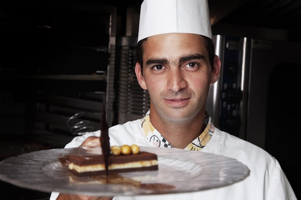 "Kiriakos is a ""senior"" member of our hotel staff. His love for sweets and confectionery delights has always been very strong hence he decided to fully devote himself to the confectionery artistry. Both the culinary and confectionery arts require the highest level of creativity. In order though to achieve the best possible outcome both high level professional training and excellent collaboration amongst colleagues is required. @ http://www.eaglespalace.gr/"