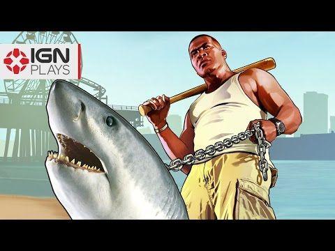 Pet Shark Mod in GTA 5 - IGN Plays - YouTube