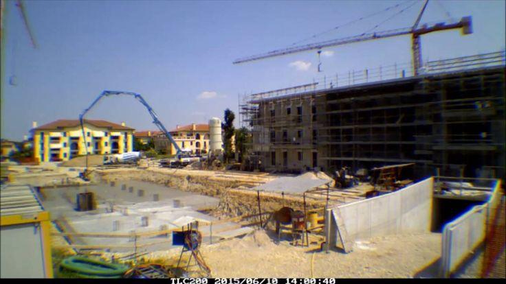Residence Vivo - Time lapse dei lavori della prima palazzina