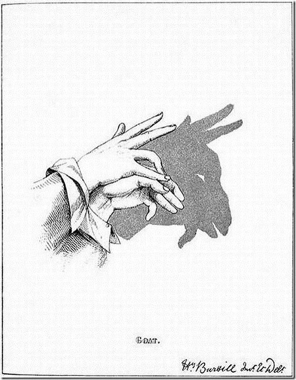 Vintage Instructions: Hand Shadows Create Animals