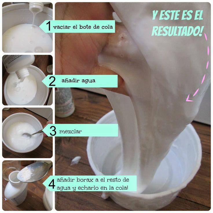 Ando enreando FOR KIDS: Receta de Blandiblub!!!! | Aprender manualidades es facilisimo.com
