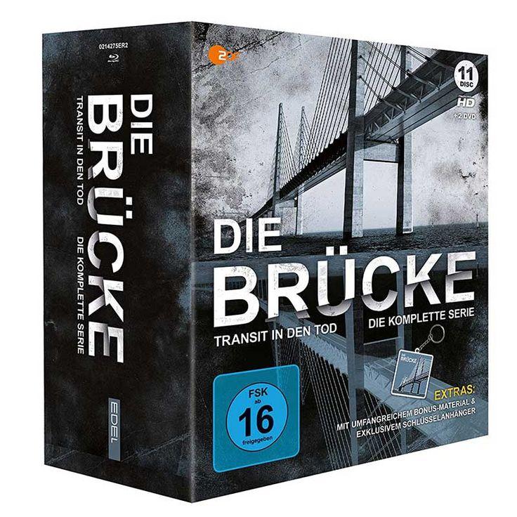 Die Brucke Die Komplette Serie Blu Ray Fur 4899 Blu Ray Serien Erfolgsgeschichten