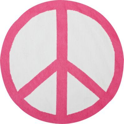 Perfect Peace Sign Rug