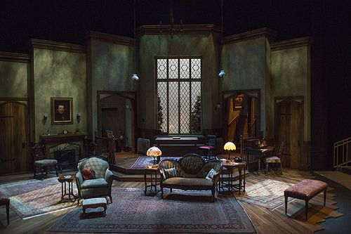 the man who came to dinner set design - Google Search