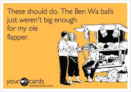 Bin wah balls