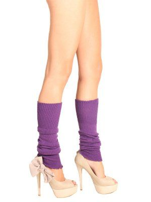 Loving the retro look and would hide cankles too Silky Leg Warmers Available In A Wide Range Of Colours At Tights Please