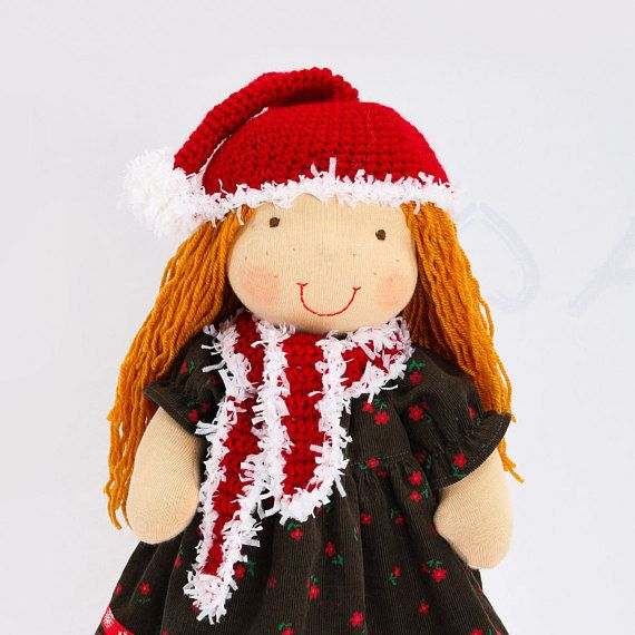 Winter Waldorf doll READY TO SHIP Gift for girls Rag doll