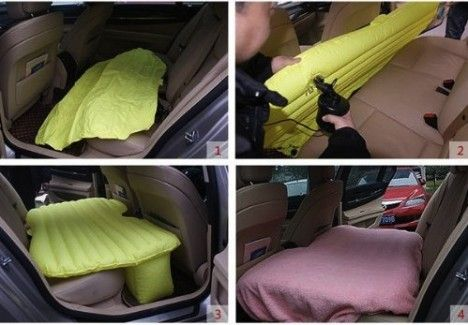 Colchão inflável pra carro