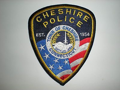 Cheshire, Connecticut  Police Department Patch