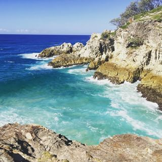 North Gorge Walk - North Stradbroke Island - just a day trip from Brisbane - Australia.  This is a 1.5km walk and a great spot for whale-watching