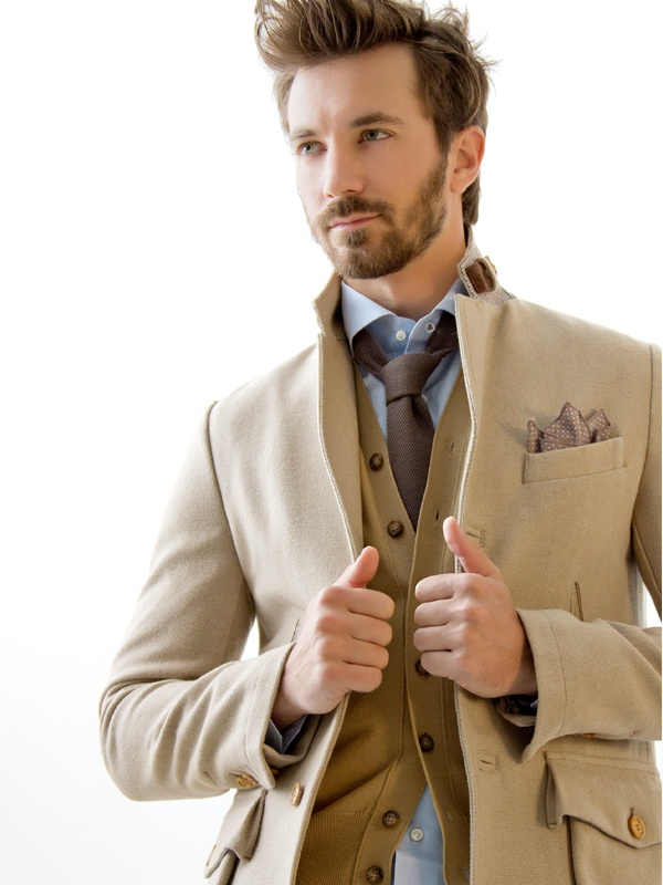 Country Jacket,  Wool, olive wood buttons  Colours: blue, gray, sand  www.anissejlifecom  #fashion #jacket #giacca #moda #collezione