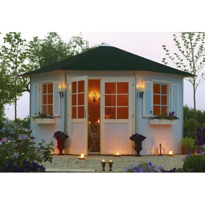 Best 25 abri de jardin solde ideas on pinterest for Chalet bois soldes