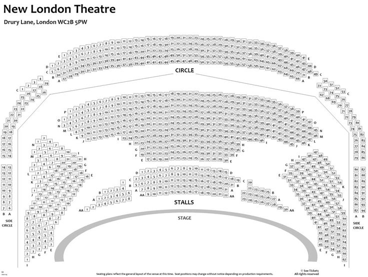 new london theatre seating - Google Search