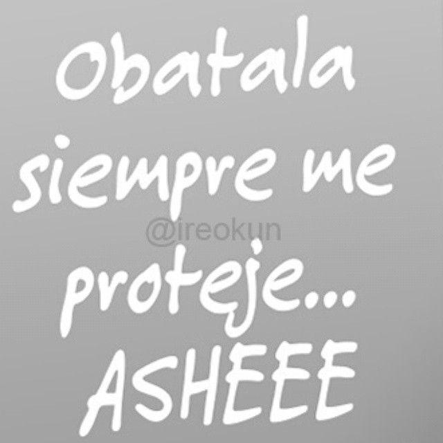 #religion #yoruba #osha #maferefunlaosha #santo #santeria #santeros #iyawo #iyaworaje #aleyo #religiosos #orishas #deidades #ashe #ire #yemaya #eleggua #shango #oshun #obatala #oya #oggun #oshosi #olofin #olokun #orula #imawas